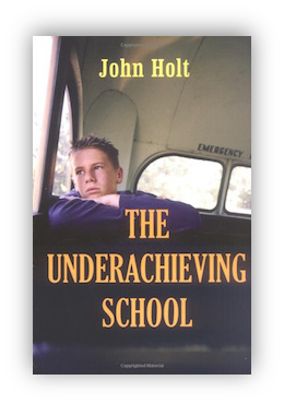 book cover of The Underachieving School