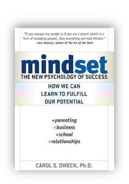 book cover of Mindset: The New Psychology of Success By Carol Dweck 2007