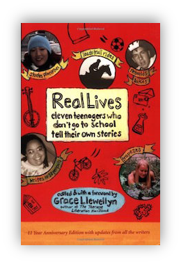 book cover of Real Lives: Eleven Teenagers Who Don't Go to School Tell Their Own Stories by Grace Llewellyn (editor) 2005 By Ken Robinson 2009